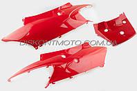 Пластик VIPER F1,  F50 задняя боковая пара (красный) KOMATCU