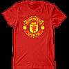 Футболка с печатью принта Manchester United