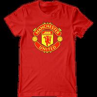 Футболка с печатью принта Manchester United, фото 1