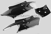 Пластик VIPER F1,  F50 задняя боковая пара (черный) KOMATCU