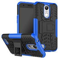 Чехол Armor Case для LG K10 2017 M250 Синий