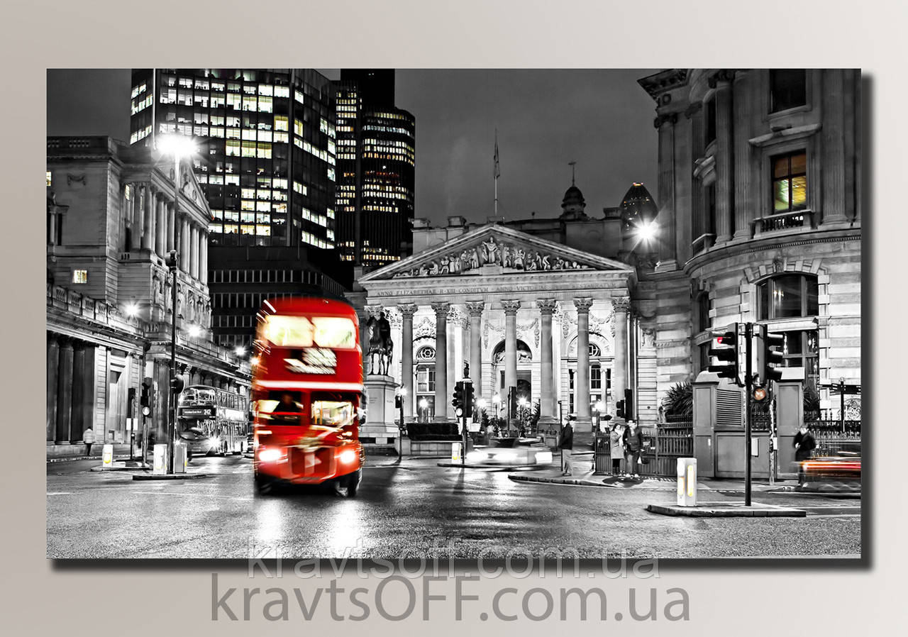 """Картина на холсте """"Лондон"""" ( 32.5x54 cм )"""