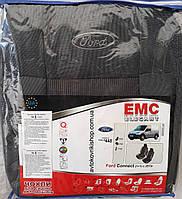 Чехлы в салон Ford Connect (1+1) без столиков 2002-2013 EMC Elegant