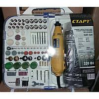 Гравер СТАРТ СДГ-320 (гнучкий вал, бокс 160 насадок)