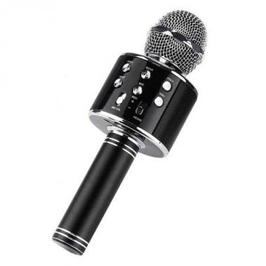 Беспроводной микрофон для караоке Wster WS858 (копия) Black