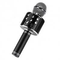 Беспроводной микрофон для караоке Wster WS858 (копия) Black, фото 1