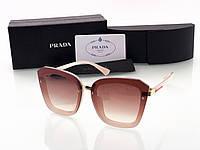 Женские солнцезащитные очки в стиле PRADA (0057) rose