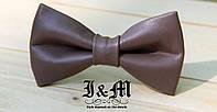Кожаная галстук-бабочка 9912S