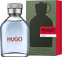 Hugo Boss Hugo Man edt 40 ml. мужской ( зеленый )оригинал