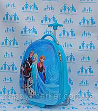 Чемодан дорожный детский для девочки оригинал Josepf Ottenn Холодное сердце 47-JDX-16, фото 3