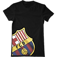 Футболка с печатью принта Barcelona , фото 1
