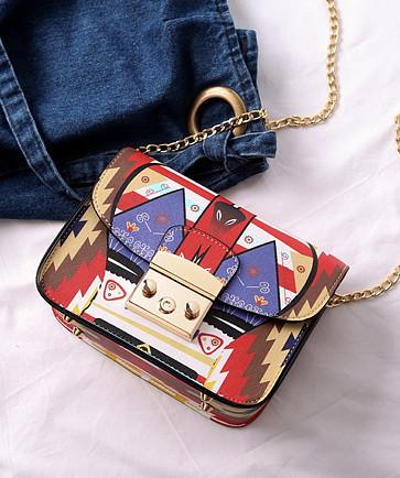 f3a1202152ab Клатч сумочка на цепочке фурла разноцветная furla - интернет-магазин  NikoPrint в Славянске