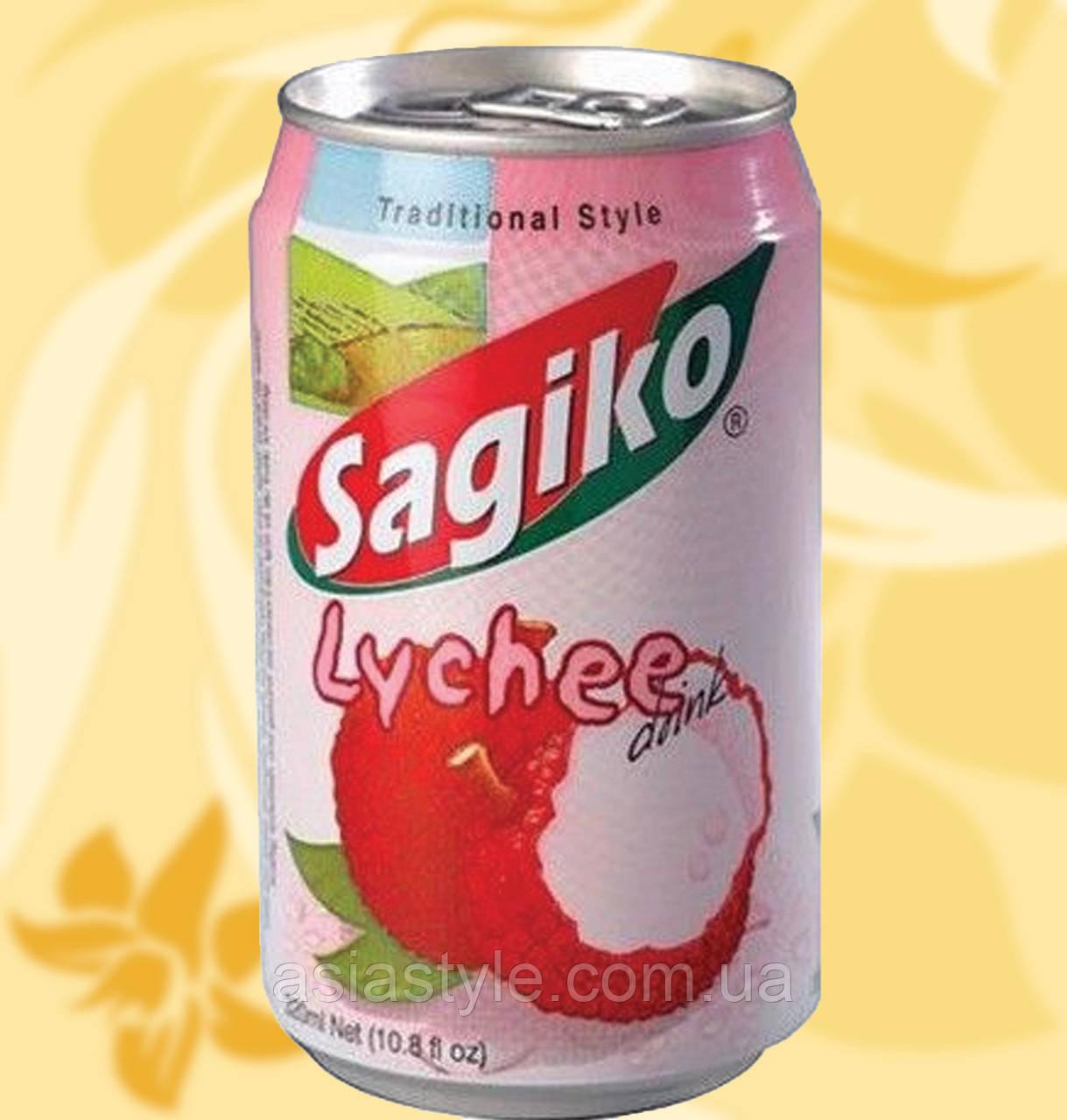 Напій Лічі, Sagiko, 320 мл, В'єтнам, Sagiko Lychee, АФ