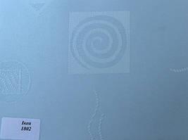 Готовые рулонные шторы Ткань Икеа 1802 Голубой