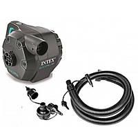 Электрический насос Интекс 220V для накачивания бассейнов, надувных кроватей и матрасов, батутов