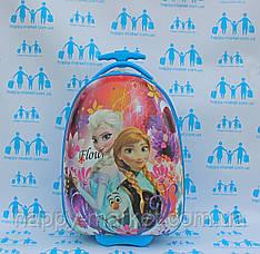 Пластиковые чемоданы для детей в самолёт качество Люкс Josepf Ottenn Frozen Холодное сердце 2966-2\16-JDX-61-1