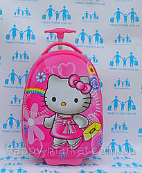 Чемоданы для детей ручная кладь стандарт Josepf Ottenn Hello Kitty 0378-1\1672 розовый
