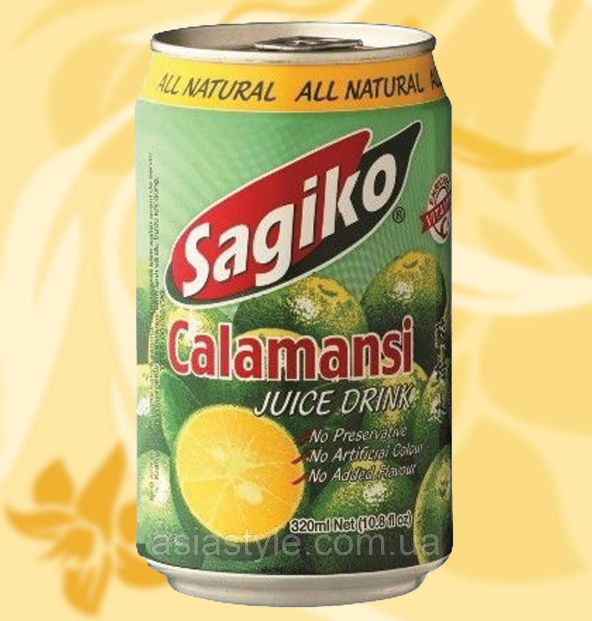 Напій з соком манадріна і кумквата, каламансі, Sagiko, 320 мл, В'єтнам, АФ