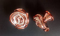 Ручка мебельная роза, фото 1