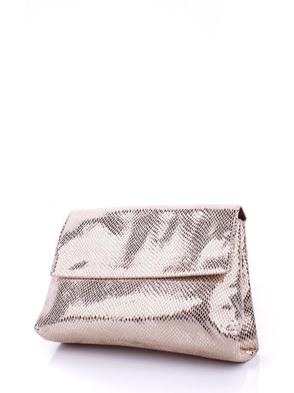 Блестящая женская сумка конверт