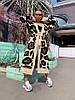 """Женский вязаный кардиган """"Сафари"""" с принтом в расцветках. ОЛ-1-0419, фото 4"""