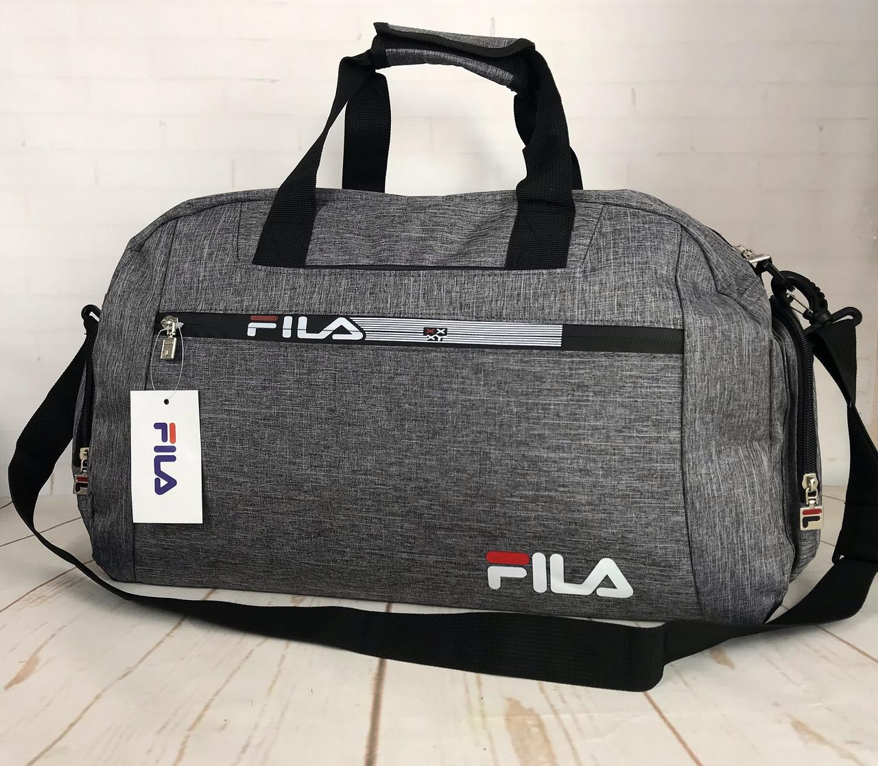 60c58b2f Красивая спортивная сумка Fila.Сумка для тренировок. Дорожная сумка КСС29 -  интернет-магазин