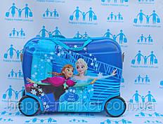Чемодан детский люкс на 4 колесиках Холодное Сердце  416\7548FR