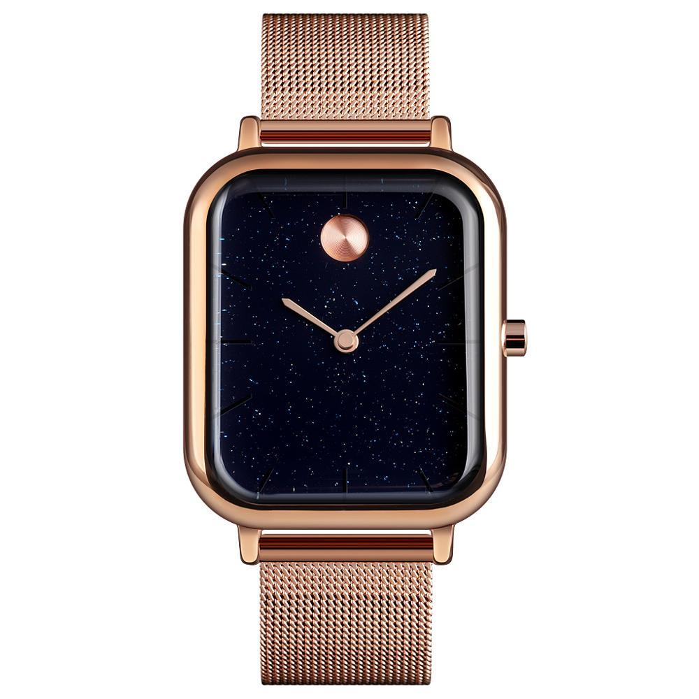 Skmei  9187 special золотые женские часы