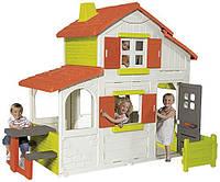 Игровой домик двухэтажный Duplex Smoby 320023