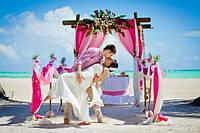 Свадебная церемония в западном морском стиле
