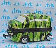 Чемоданы детские дорожные качество Люкс ручная кладь Josepf Ottenn на 2 колесах Military auto 18  IMG4957