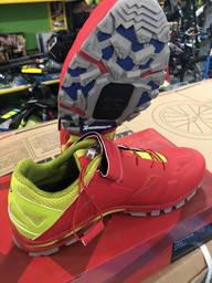 Велотуфлі 43р Northwave Spider 2 Michelin soles червоний\лайм