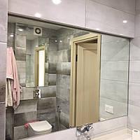 Зеркало в ванную в прирезке
