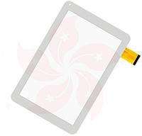 Сенсор Pixus HiPower Белый White 256x156 mm 50Pin Тачскин Стекло Touch Screen