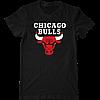 Футболка с печатью принта Chicago Bulls