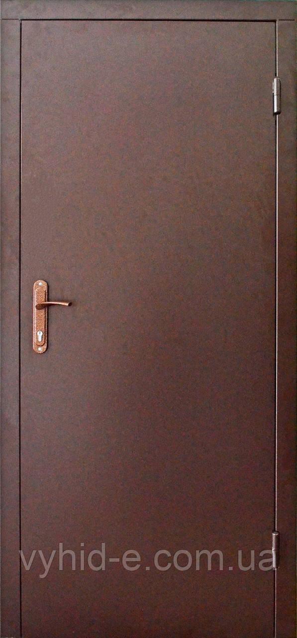 Двери входные уличные металл / металл технические