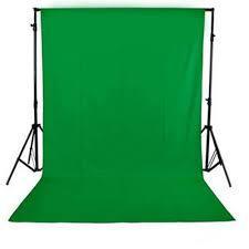 Комплект: Фон  зеленый 1,6х5м (Хромакей) + Ворота для фона 2.2м/1/6м.