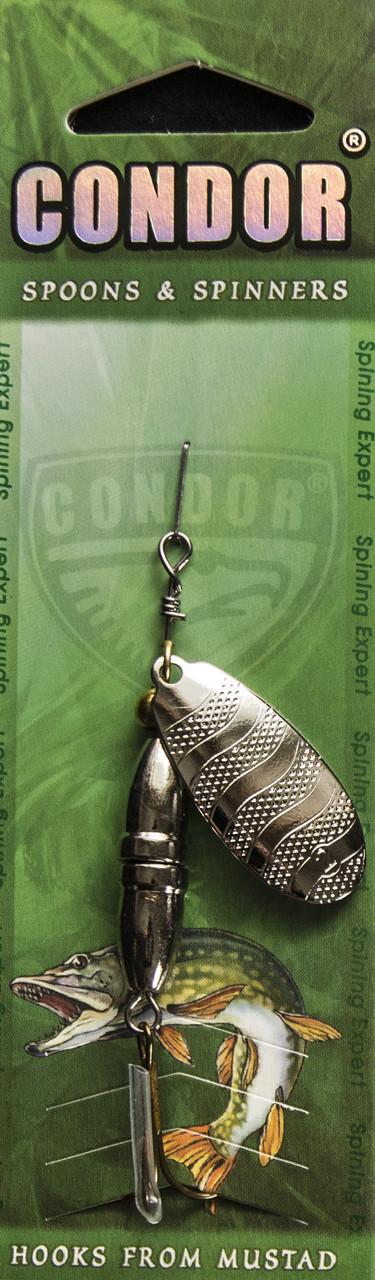 Вращающаяся Блесна Condor Mod.5160-1 Col.115 13g