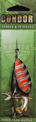 Вращающаяся Блесна Condor Mod.5160-3 Col.159 23g, фото 2