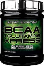 Scitec Nutrition BCAA+Glutamine Xpress 300 г , 25 порций. ВСАА , аминокислоты,глютамин.