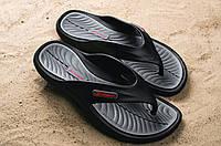 Шлепанцы Rider 2215-20780 (лето, мужские, резина, черный)