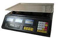 Весы торговые электронные CRYSTAL до 40 кг D10433