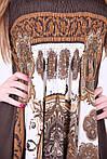 Молодежный сарафан модного кроя материал масло, фото 2