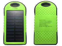 Power Bank Solar 20000 mAh повер банк сонячний акумулятор, Зелений