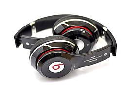 Накладные беспроводные Bluetooth Наушники с микрофоном Monster Beats Solo 2 by Dr.Dre 460 Черный (Реплика)