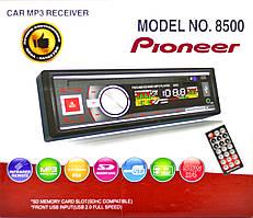Магнітола Pioneer 8500 + Bluetooth USB,SD карта,ПУЛЬТ,AUX+FM (4x50)