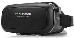 Виртуальные видео-очки VR BOX Shinecon 3D + ПУЛЬТ Черный