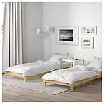 IKEA UTAKER Раскладная кровать с 2 матрасами, сосна, Хусвика  (992.278.39), фото 4