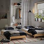 IKEA UTAKER Раскладная кровать с 2 матрасами, сосна, Хусвика  (992.278.39), фото 9