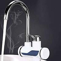 Проточный водонагреватель Делимано с экраном Delimano Water Heater D10434